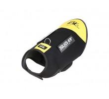 JULIUS-K9 жилет для собак Neoprene IDC® S (51-64см / длина 40см), черно-желтый