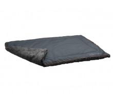 Hunter одеяло для собак Bergamo 120х80 см, хлопок/полиестер, антрацит