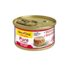 Консервы для собак Gimdog Pure Delight из тунца с говядиной 85 грамм