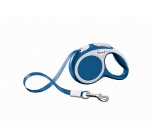 Рулетка для собак Flexi VARIO XS (до 12 кг) 3 м лента синяя