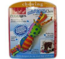 Игрушка Petstages для собак Mini Гантелька с нежными деснами 12 см текстиль