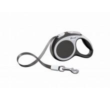 Рулетка для собак Flexi VARIO XS (до 12 кг) 3 м лента антрацит