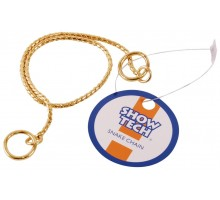 Металлическая шоу цепочка-кобра SHOW TECH 55 см х 3 мм золотая