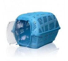 Переноска IMAC (Имак) CARRY SPORT д/кошек пепельно-синий, 48,5х34х32см