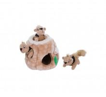 OH Petstages игрушка-головоломка для собак Hide-A-Squirrel (спрячь белку) средняя 15 см