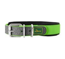 Hunter oшейник для собак Convenience Comfort 35/XS-S (22-30 см) яблочный зеленый