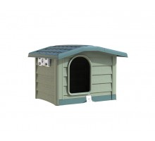 BAMA PET будка для собак BUNGALOW L 101х94х77h см, пластик, зеленая