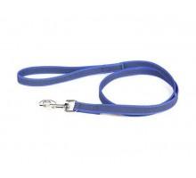 JULIUS-K9 поводок для собак Color & Gray Super-grip 2/120см, с ручкой, до 50 кг, сине-серый