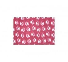 ProFleece коврик меховой 1х1,6 м бордовый/белый