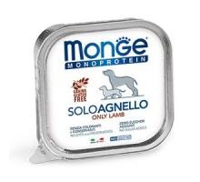 Паштет для собак Monge Dog Monoproteico Solo из ягненка 150 грамм