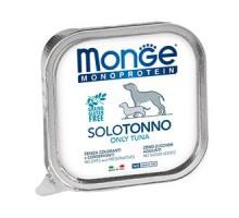 Паштет для собак Monge Dog Monoproteico Solo из тунца 150 грамм * 24 штуки
