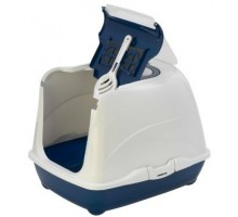 Moderna био-туалет Flip Cat 50x39x37h см с совком, синий