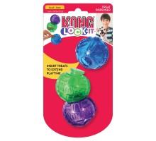 Игрушка для собак KONG LOCK-IT мячи для лакомств 3 шт