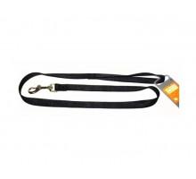 Поводок для собак HUNTER SMART ECCO 20/100 нейлон/черный