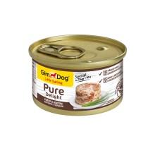 Консервы для собак Gimdog Pure Delight из цыпленка с говядиной 85 грамм
