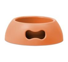 United Pets миска Pappy-medium, 1,1 л, оранжевый