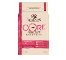 Сухой корм Wellness CORE Ocean беззерновой для стерилизованных кошек и кастрированных котов, лосось с тунцом, 10 кг