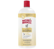 Nature's Miracle Шампунь Oatmeal Odor Control с овсяным молочком с контролем запаха, для собак, 947 мл