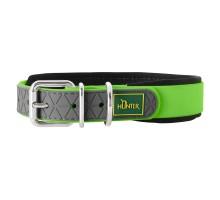 Hunter oшейник для собак Convenience Comfort 40/S (27-35 см) яблочный зеленый