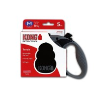 Рулетка KONG Terrain M (до 30 кг) лента 5 метров черная