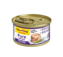 Консервы для собак Gimdog Pure Delight из цыпленка с тунцом 85 грамм