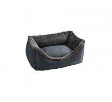Hunter софа для собак Bergamo 60х40 см, хлопок/полиестер, антрацит