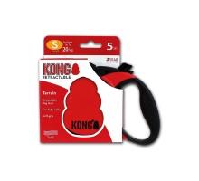 Рулетка KONG Terrain S (до 20 кг) лента 5 метров красная