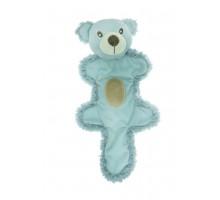 Игрушка для собак AROMADOG Мишка с хвостом 25 см голубой