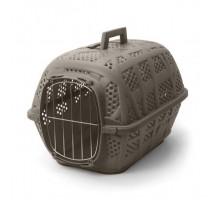 Переноска IMAC (Имак) CARRY SPORT д/кошек бежево-серый,с металлической дверью, 48,5х34х32см