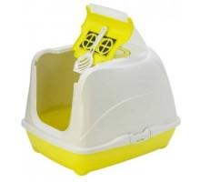 Moderna био-туалет Flip Cat 50x39x37h см с совком, желтый