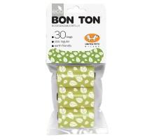 """United Pets пакеты """"Refill"""" для набора """"BON TON"""" 3 рулона по 10 пакетов, зеленые"""