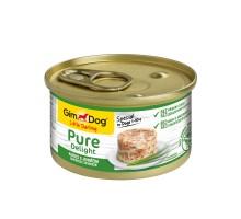Консервы для собак Gimdog Pure Delight из цыпленка с ягненком 85 грамм