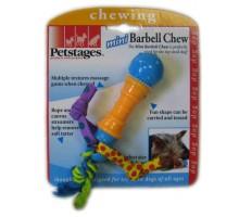 Игрушка Petstages для собак Mini Гантеля 16 см резина