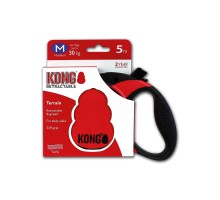 Рулетка KONG Terrain M (до 30 кг) лента 5 метров красная