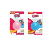 Игрушка для собак KONG PUPPY 6 СМ для щенков, розовый или голубой