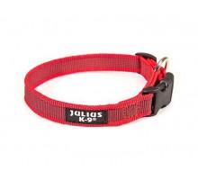 JULIUS-K9 ошейник для собак Color & Gray (39-65см/2,5см), красно-серый