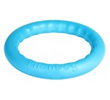 PitchDog 30 - Игровое кольцо для аппортировки d 28 голубое