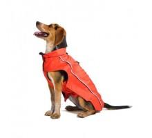 Плащ-дождевик Dog Gone Smart Nanobraker , 26',красный с серым