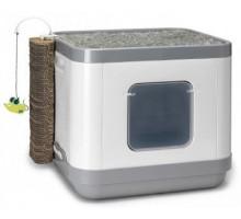 Moderna Cat Concept 4 в 1 (туалет, лежанка, дразнилка, когтеточка) 47x39x43h
