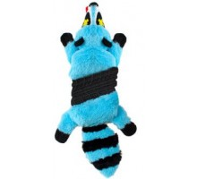 OH Petstages игрушка-шкурка для собак ROADKILLZ ЕНОТ 50 см голубой